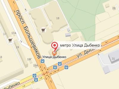 Выкуп авто у метро Улица Дыбенко