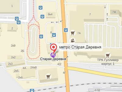 Выкуп авто у метро Старая Деревня