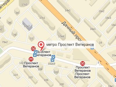 Выкуп авто у метро Проспект Ветеранов