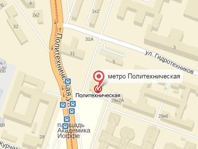 Выкуп авто у метро Политехническая