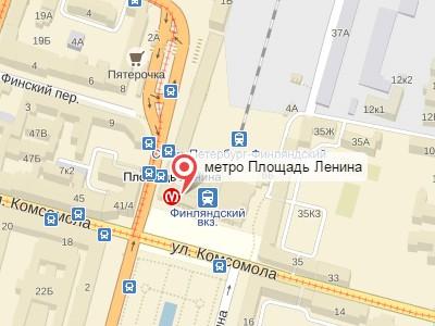 Выкуп авто у метро Площадь Ленина