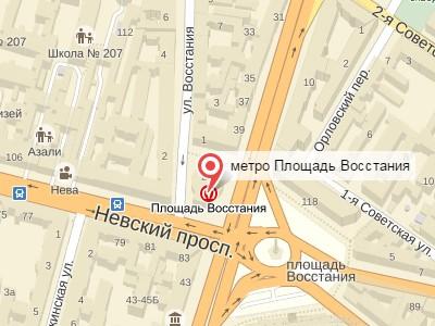 Выкуп авто у метро Площадь Восстания