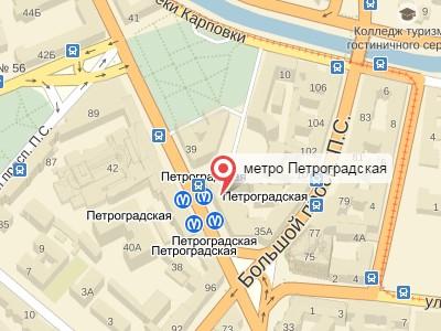 Выкуп авто у метро Петроградская