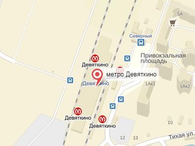 Выкуп авто у метро Девяткино