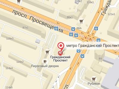 Выкуп авто у метро Гражданский проспект